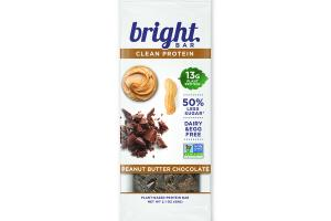 PEANUT BUTTER CHOCOLATE PLANT-BASED CLEAN PROTEIN BAR