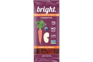 CARROT BLUEBERRY WHOLE FOOD BAR
