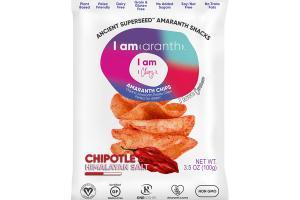 CHIPOTLE & HIMALAYAN SALT AMARANTH CHIPS
