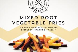 MIXED ROOT VEGETABLE FRIES CRISPY VIBRANT SELECTION OF BEETROOT, CARROT & PARSNIP