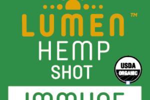 IMMUNE WITH TURMERIC COLD-PRESSED HEMP SHOT JUICE
