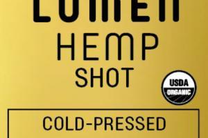 COLD-PRESSED HEMP SHOT JUICE