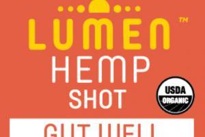 GUT WELL WITH COCONUT VINEGAR & PROBIOTICS COLD-PRESSED HEMP JUICE