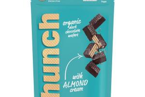 ORGANIC DARK CHOCOLATE WAFERS WITH ALMOND CREAM