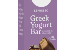 ESPRESSO GREEK YOGURT BAR