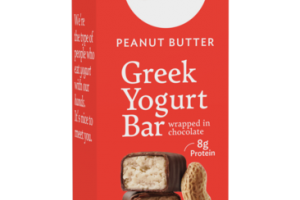 PEANUT BUTTER GREEK YOGURT BAR