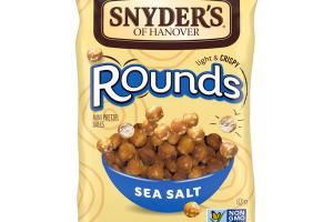 SEA SALT LIGHT & CRISPY ROUNDS MINI PRETZEL BALLS