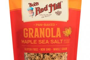 HOMESTYLE PAN-BAKED MAPLE SEA SALT FLAVORED GRANOLA
