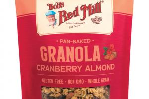 HOMESTYLE PAN-BAKED CRANBERRY ALMOND GRANOLA