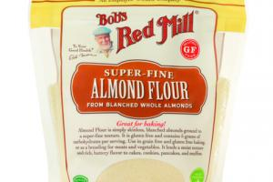 SUPER-FINE ALMOND FLOUR FROM BLANCHED WHOLE ALMONDS