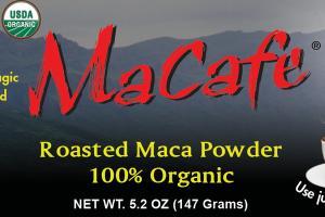 100% ORGANIC ROASTED MACA POWDER INSTANT BEVERAGE!