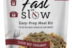 CLASSIC BEEF STROGANOFF EASY-PREP MEAL KIT