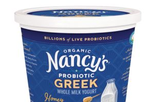 HONEY ORGANIC GREEK WHOLE MILK YOGURT