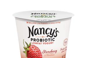 STRAWBERRY PROBIOTIC LOWFAT YOGURT
