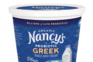 PLAIN ORGANIC GREEK WHOLE MILK YOGURT