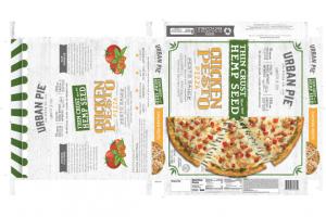 CHICKEN PESTO THIN CRUST MADE WITH HEMP SEED PIZZA