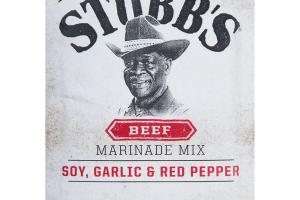 SOY, GARLIC & RED PEPPER BEEF MARINADE MIX