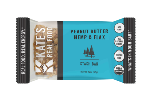 PEANUT BUTTER HEMP & FLAX STASH BAR
