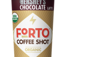 CHOCOLATE LATTE ORGANIC COLD BREW COFFEE SHOT WITH MILK