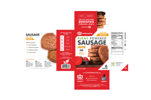 SAUSAGE MEATLESS PATTIES
