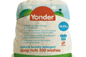 NATURAL LAUNDRY DETERGENT, SOAP NUTS