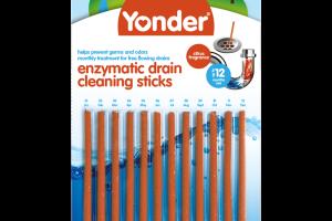 ENZYMATIC DRAIN CLEANING STICKS