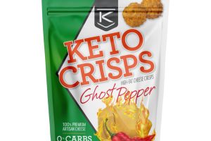 GHOST PEPPER HIGH-FAT CHEESE KETO CRISPS