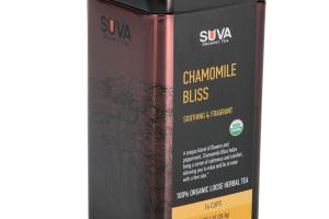 CHAMOMILE BLISS SOOTHING & FRAGRANT 100% ORGANIC LOOSE HERBAL TEA