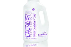 SUPER CONCENTRATED LAUNDRY LIQUID, SWEET LAVENDER + LIME