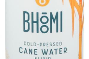 TURMERIC ASHWAGANDHA & LEMON IMMUNITY + COLD-PRESSED CANE WATER ELIXIR
