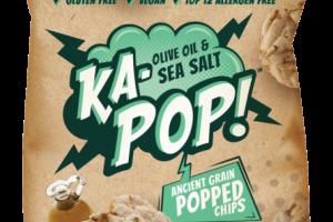 OLIVE OIL & SEA SALT ANCIENT GRAIN POPPED CHIPS