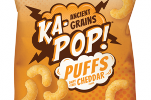 CHEDDAR FLAVOR PUFFS ANCIENT GRAINS