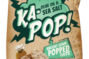 OLIVE OIL & SEA SALT ANCIENT GRAIN POPPED CHIPS