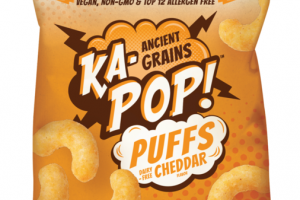 CHEDDAR ANCIENT GRAINS PUFFS