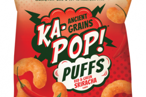 RED & GREEN SRIRACHA PUFFS