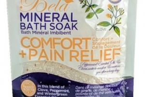 MINERAL BATH SOAK, COMFORT + PAIN RELIEF