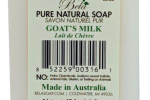 PURE NATURAL SOAP GOAT'S MILK