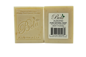 TRIPLE MILLED PURE NATURAL SOAP ALMOND