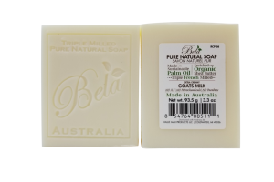 PURE NATURAL SOAP, EXTRA CREAMY GOATS MILK