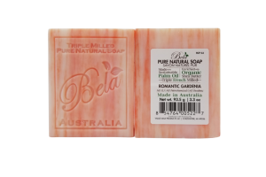 TRIPLE MILLED PURE NATURAL SOAP