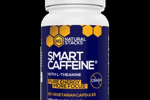 SMART CAFFEINE PURE ENERGY MORE FOCUS DIETARY SUPPLEMENT VEGETARIAN CAPSULES