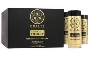 QUALIA NOOTROPIC ENERGY FOCUSED • ALERT • DRIVEN DIETARY SUPPLEMENT TRIPLE BERRY