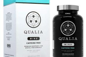 QUALIA MIND CAFFEINE FREE DIETARY SUPPLEMENT CAPSULES