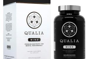 QUALIA MIND PREMIUM NOOTROPIC FOR MENTAL PERFORMANCE DIETARY SUPPLEMENT CAPSULES