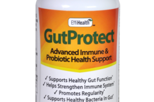 GUTPROTECT ADVANCED IMMUNE & PROBIOTIC HEALTH SUPPORT DIETARY SUPPLEMENT VEGGIE CAPSULES