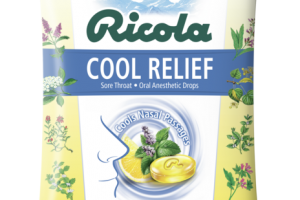 STRONG MENTHOL COOL RELIEF ORAL ANESTHETIC DROPS LEMON FROST