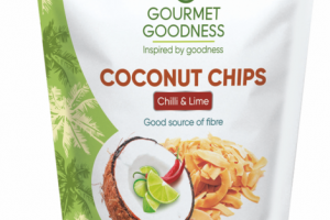 CHILLI & LIME COCONUT CHIPS