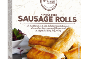 4 MEAT FREE SAUSAGE ROLLS