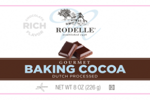 RICH CHOCOLATE FLAVOR DUTCH PROCESSED GOURMET BAKING COCOA