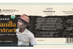 VANILLA EXTRACT ORGANIC MADAGASCAR BOURBON